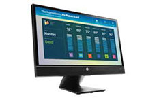 touch screen hp e220t
